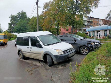 У Сумах на вулиці Римського-Корсакова сталася ДТП