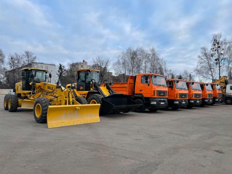 Сумський «Шляхрембуд» закупив техніки на 20 млн грн.