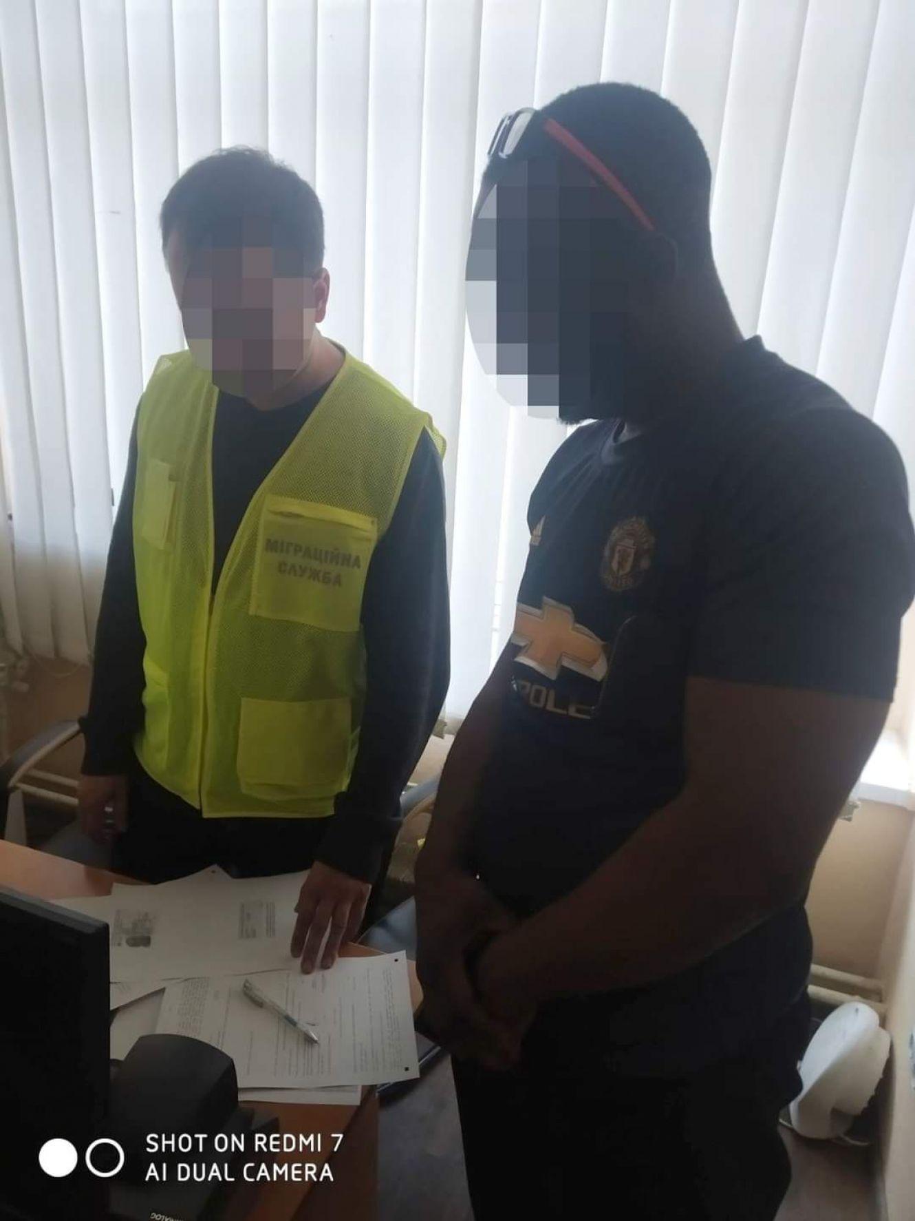 У Сумах оштрафували продавця з Нігерії