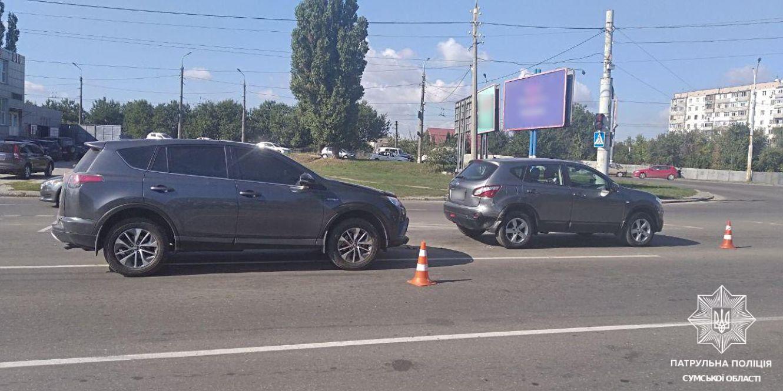 У Сумах сталася автопригода на проспекті Курському
